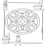 Mandala's - Dziecięca Mandala 4