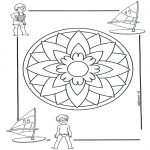 Mandala's - Dziecięca Mandala 5