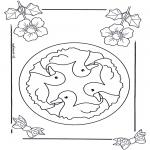 Mandala's - Dziecięca Mandala 6