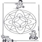 Mandala's - Dziecięca Mandala 7
