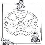 Mandala's - Dziecięca Mandala 8