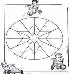 Mandala's - Dziecięca Mandala 9