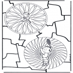 Mandala's - Dziecięca podwójna Mandala