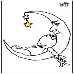 Przedszkolaki - Dziecko i księżyc