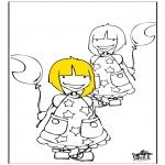 Przedszkolaki - Dziewczęta 1