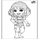 Przedszkolaki - Dziewczyna 3