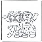 Przedszkolaki - Dziewczynka i chłopiec