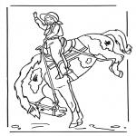 Zwierzęta - Dziewczynka na koniu 2