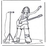 Różne - Dziewczynka z gitarą
