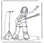 Dziewczynka z gitarą