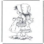 Różne - Dziewczynka z jabłkami