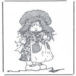 Różne - Dziewczynka z kotkiem