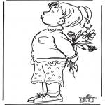Przedszkolaki - Dziewczynka z Kwiatami