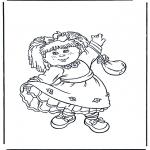 Przedszkolaki - Dziewczynka z sukienką