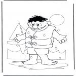 Przedszkolaki - Emil z wodą