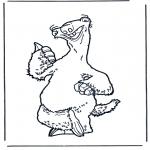 Bohaterowie Z Bajek - Epoka lodowcowa 5