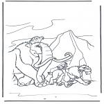Bohaterowie Z Bajek - Epoka lodowcowa 9