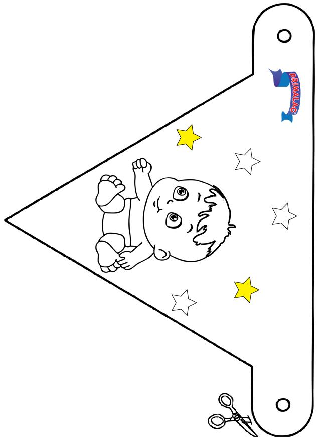 Flaga dekoracji Primalac - Do budowania