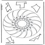 Mandala's - Geomandala 10