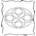 Mandala's - Geomandala 6