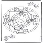 Mandala's - Geomandala 9