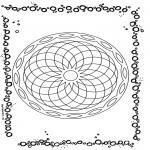 Mandala's - Geometryczna Mandala 1