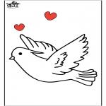Zwierzęta - Gołąb 1