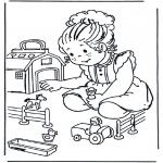 Przedszkolaki - Gospodarstwo z zabawkami