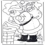 Boze Narodzenie - Gwiazdor przy Kominie