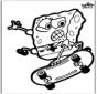 Haftowanie kartki SpongeBob