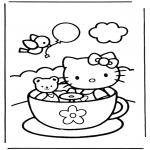 Bohaterowie Z Bajek - Hello kitty 9