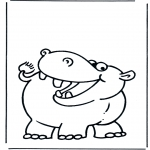 Zwierzęta - Hipopotam 2