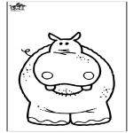 Zwierzęta - Hipopotam 3