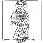 Różne - Japońska dziewczynka
