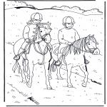 Zwierzęta - Jazda na koniu 1