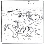 Zwierzęta - Jazda na koniu 2