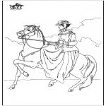 Zwierzęta - Jazda na koniu 6