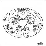 Mandala's - Jesienna Mandala 1