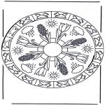 Mandala's - Jesienna Mandala