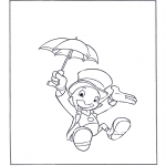 Bohaterowie z Bajek - Jiminy Świerszcz