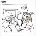 Kolorowanki Biblijne - Józef