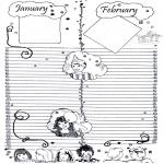 Maisterkowanie - Kalendarz część 1