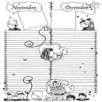 Maisterkowanie - Kalendarz część 6