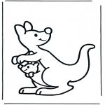 Zwierzęta - Kangur 2