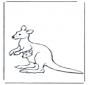 Kangur z maluszkiem