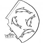 Maisterkowanie - Kapelusz Delfin