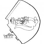 Maisterkowanie - Kapelusz Kangur
