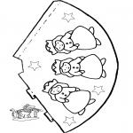 Maisterkowanie - Kapelusz Królewna