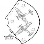 Maisterkowanie - Kapelusz Samolot