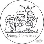 Maisterkowanie - Kartka Boże Narodzenie 1